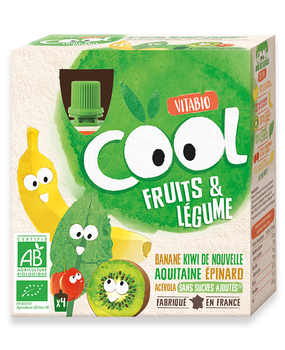 Cool Vegetable Banana Kiwi Spinach Acerola